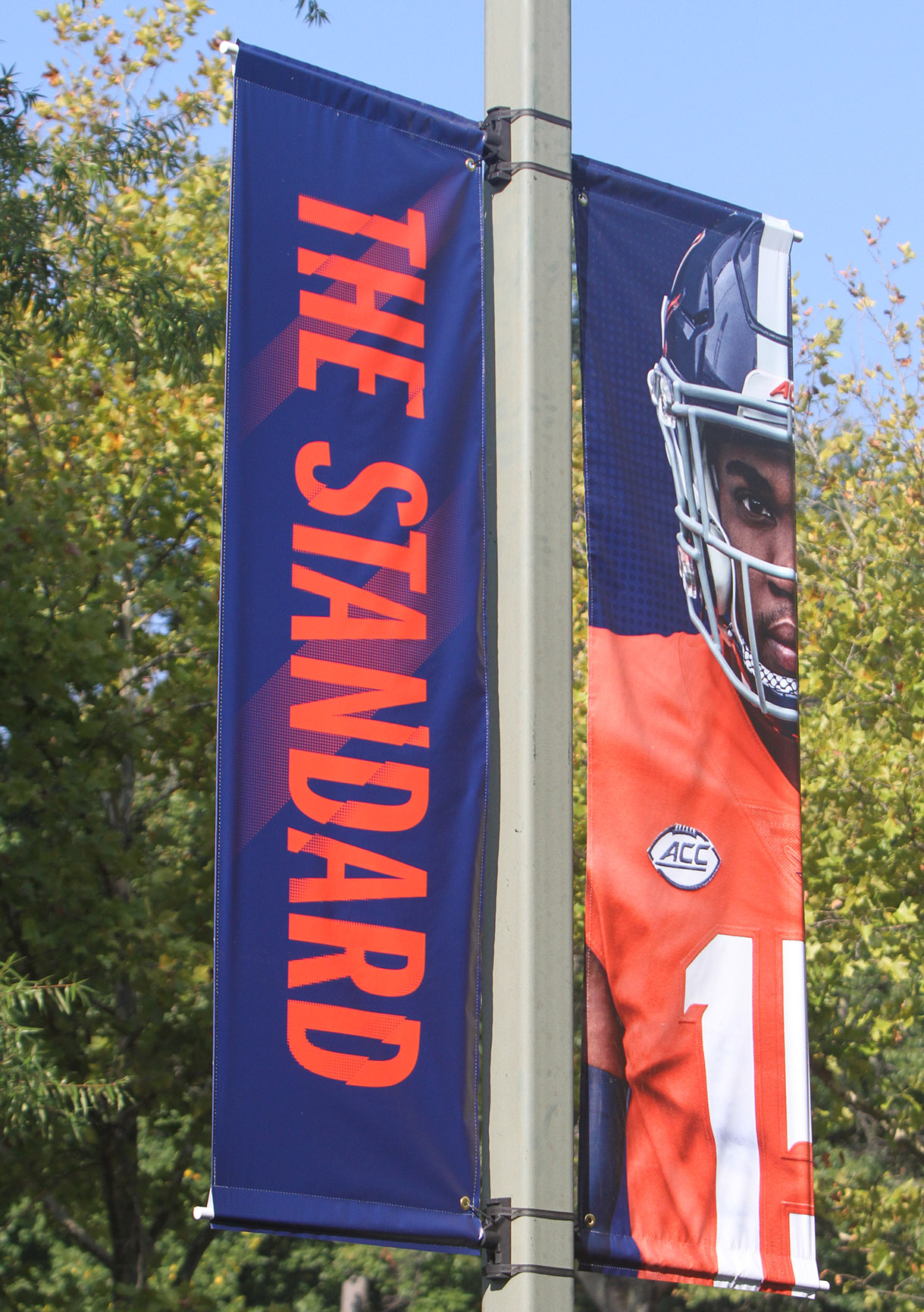 Scott Stadium Light Pole Banners