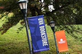 Examples of light pole banners