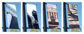 Examples of Photography Used on Light-Pole Banners