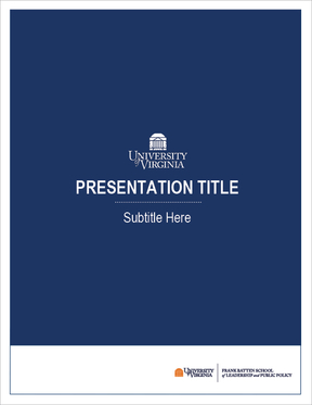 Image of Presentation Cover in Blue