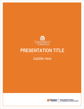 Image of Presentation Cover in Orange