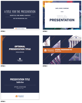 PowerPoint & Keynote Templates | University of Virginia