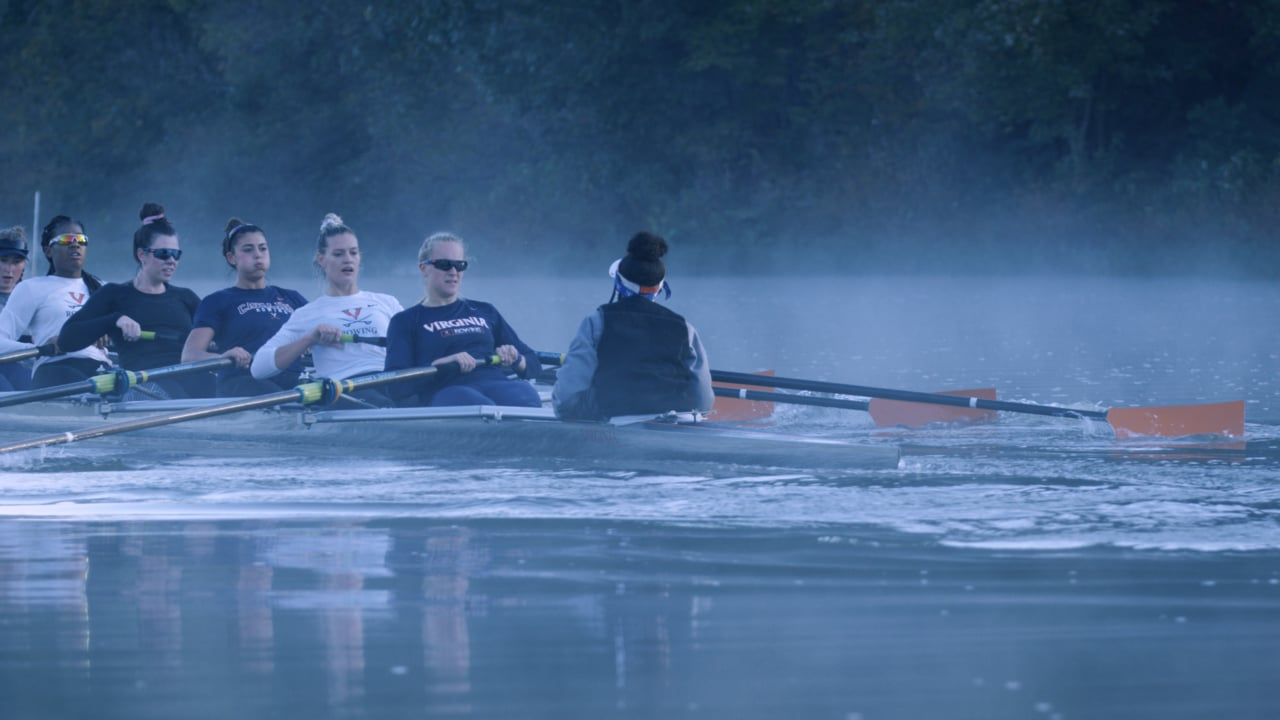 On the Water with UVA Women's Rowing Team